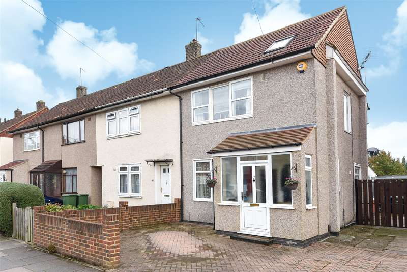 3 Bedrooms End Of Terrace House for sale in Tillotson Road, Harrow, Middlesex, HA3