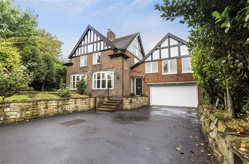 5 Bedrooms Detached House for sale in Netheroyd Hill Road, Fixby, Huddersfield