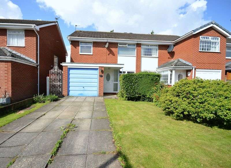 3 Bedrooms Semi Detached House for sale in Wellfield, Widnes
