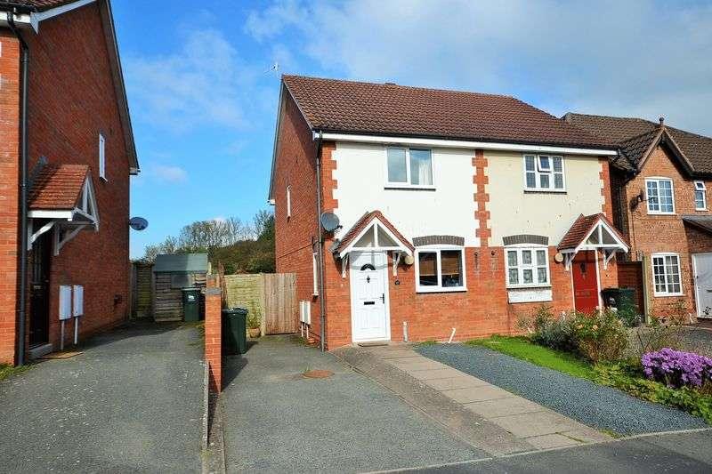 2 Bedrooms Semi Detached House for sale in Mill Meadow, Tenbury Wells