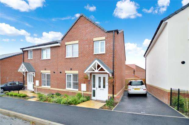 3 Bedrooms Semi Detached House for sale in Cowslip Crescent, Newton Abbot, Devon
