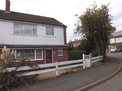 3 Bedrooms Semi Detached House for sale in Rush Close, Newbold Verdon, Leicester, Leicestershire