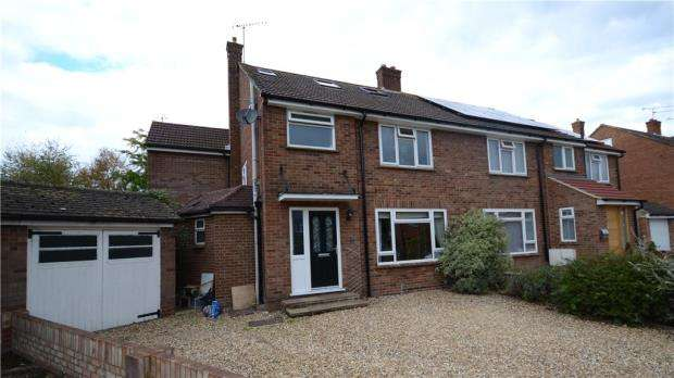 5 Bedrooms Semi Detached House for sale in St. Georges Close, Badshot Lea, Farnham