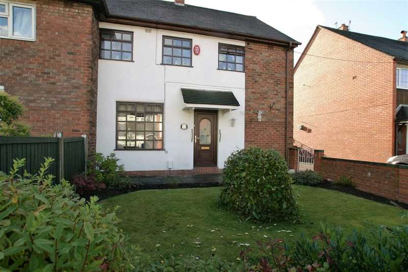 3 Bedrooms Semi Detached House for sale in Ashfield Square, Berryhill, Stoke on Trent