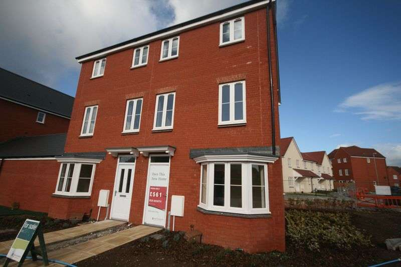 4 Bedrooms Semi Detached House for sale in Plot 324 'The Nightingales', North Petherton