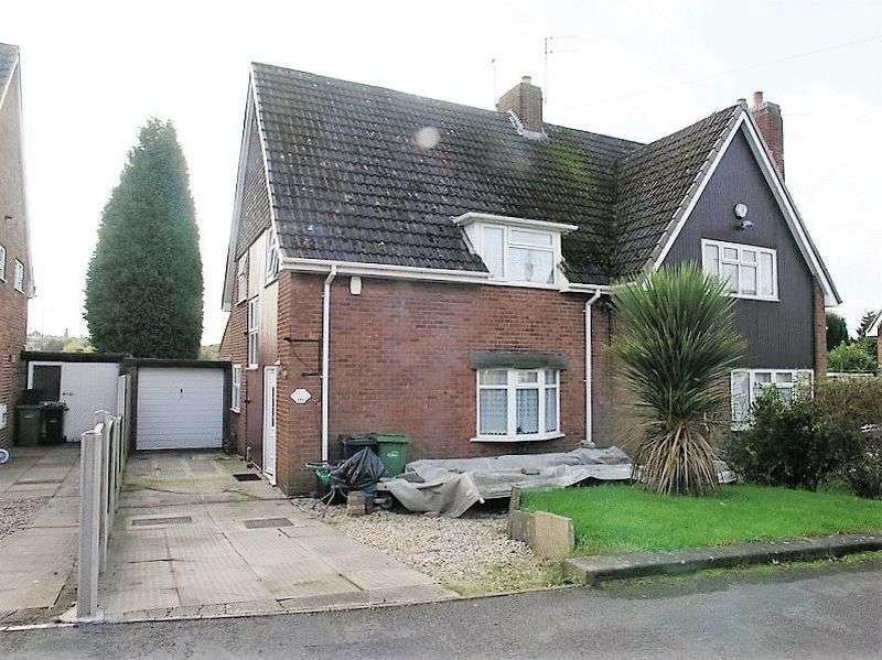 3 Bedrooms Semi Detached House for sale in Langstone Road, Russells Hall, Dudley