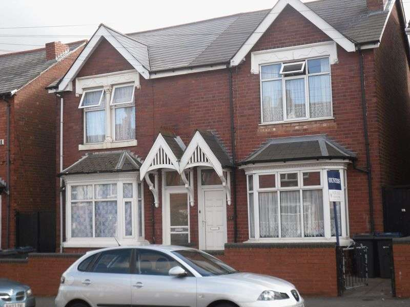 3 Bedrooms Semi Detached House for sale in Grafton Road, Handsworth