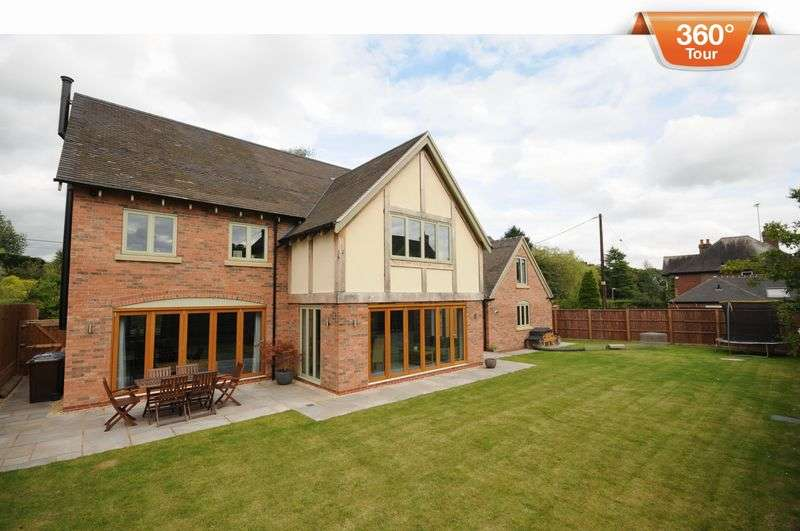 5 Bedrooms Detached House for sale in Hall Road, Marchington