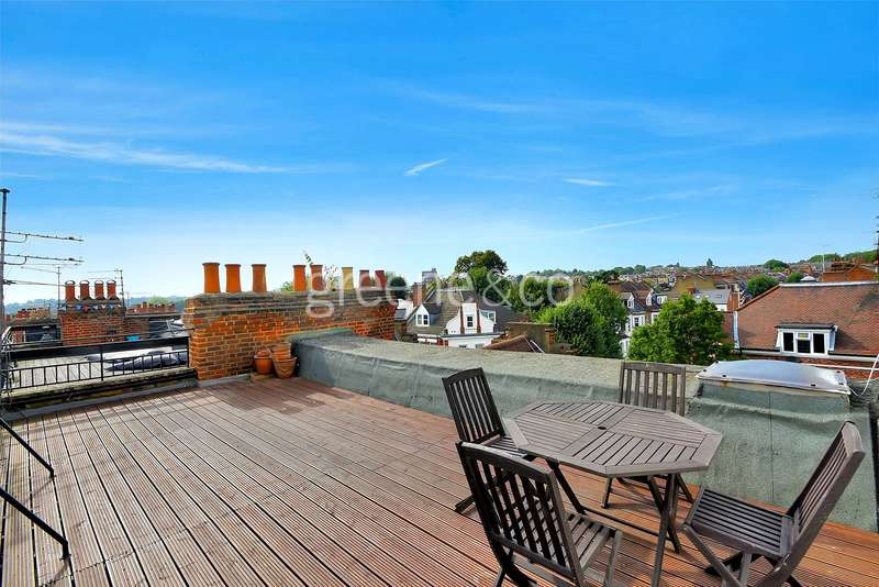 2 Bedrooms Flat for sale in Dennington Park Road, West Hampstead, NW6