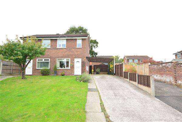 2 Bedrooms Semi Detached House for sale in Dalmahoy Close, Winsford