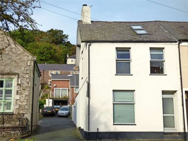 3 Bedrooms End Of Terrace House for sale in Garth Road, Bangor, Gwynedd