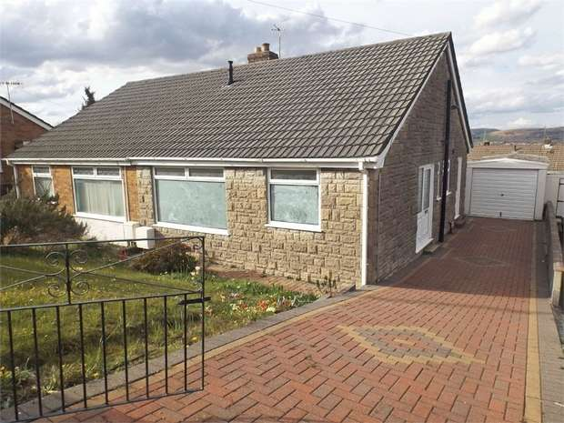 2 Bedrooms Semi Detached Bungalow for sale in Lan Manor, Morriston, Swansea, West Glamorgan