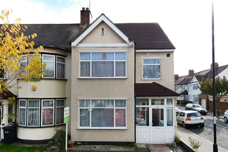 3 Bedrooms End Of Terrace House for sale in Redford Avenue, Thornton Heath