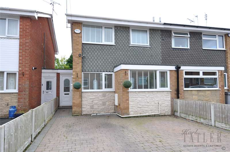 3 Bedrooms Semi Detached House for sale in Girtrell Road, Saughall Massie, Wirral
