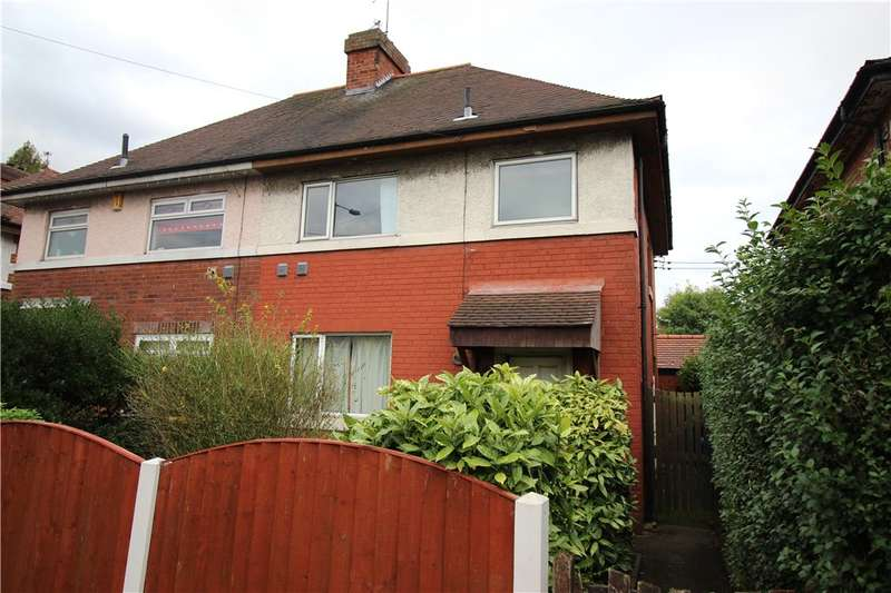 3 Bedrooms Semi Detached House for sale in Harvey Road, Alvaston, Derby, Derbyshire, DE24