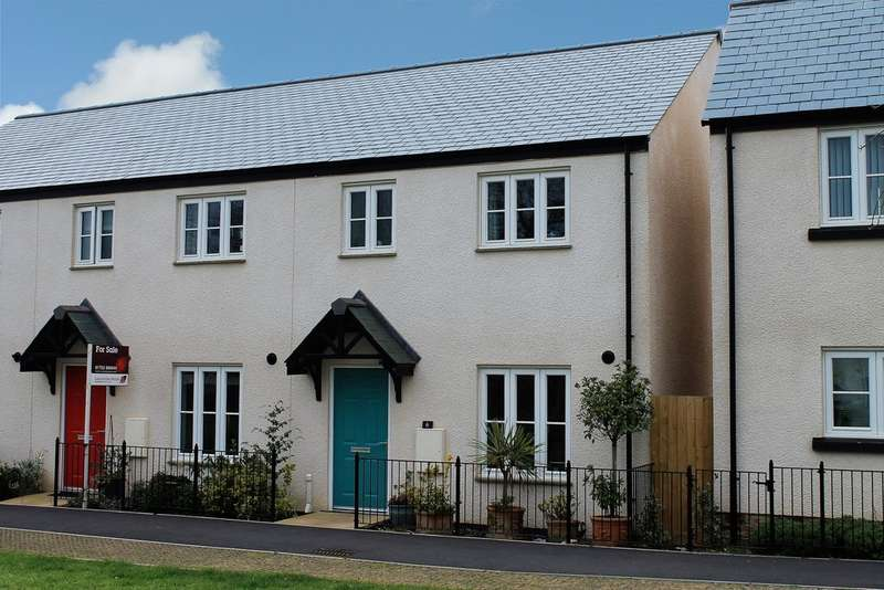 3 Bedrooms End Of Terrace House for sale in Peasberry Place, Yealmpton