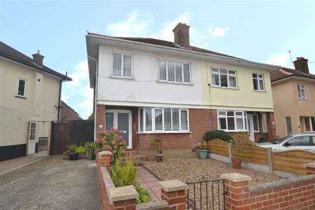 3 Bedrooms Semi Detached House for sale in Dominion Drive, Romford