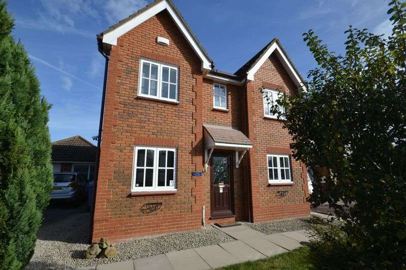 4 Bedrooms Detached House for sale in Harebell Close, Minster