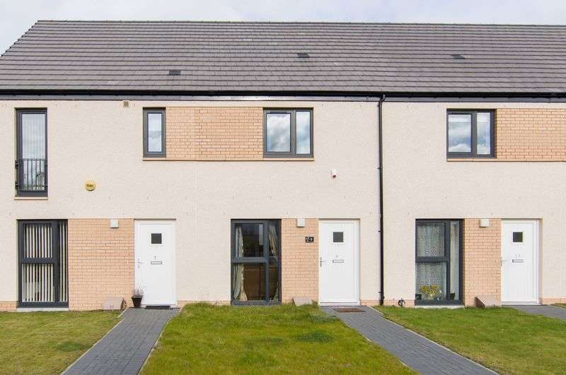 2 Bedrooms Terraced House for sale in 9 Oaklands Square, Broomhouse, Edinburgh, EH11 3AH
