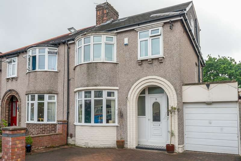 4 Bedrooms Semi Detached House for sale in Stairhaven Road, Liverpool, Merseyside, L19