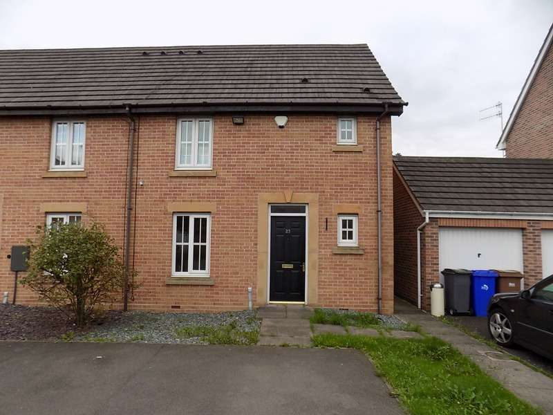 3 Bedrooms Town House for sale in Steeple Way, Stoke-on-Trent, Staffordshire, ST4