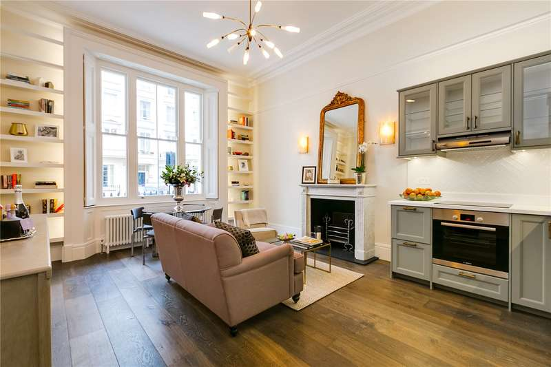 2 Bedrooms Ground Flat for sale in Belgrave Road, London, SW1V