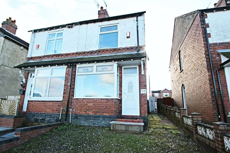 2 Bedrooms Semi Detached House for sale in Whitehill Road, Stoke-On-Trent