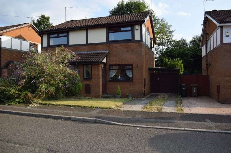 2 Bedrooms Semi Detached House for sale in Wham Bar Drive, Heywood