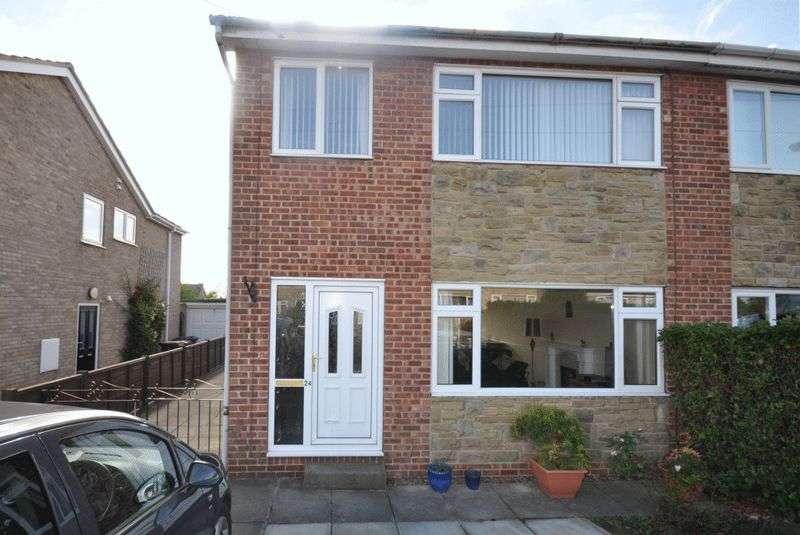 3 Bedrooms Semi Detached House for sale in Mayfield Court, Ossett