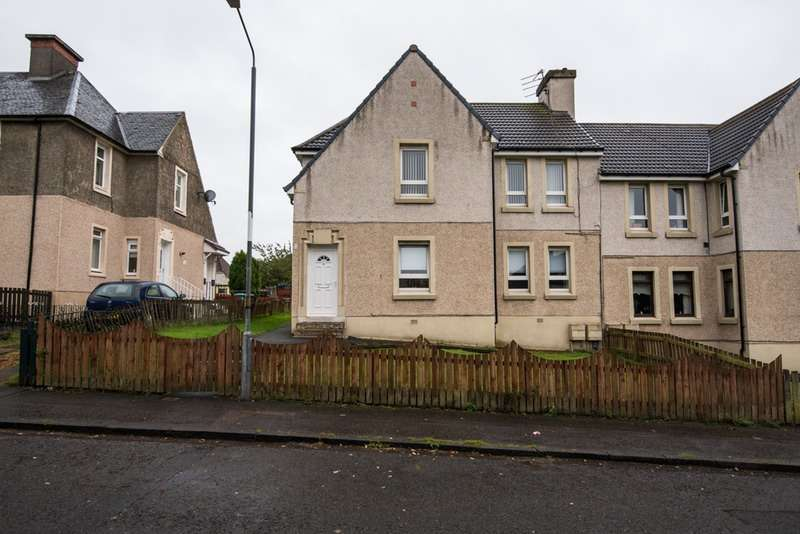 2 Bedrooms Flat for sale in Queens cres, Bargeddie, Lanarkshire, G69