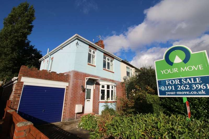 3 Bedrooms Semi Detached House for sale in Broomfield Avenue, Newcastle Upon Tyne, NE6