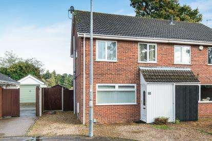 4 Bedrooms Semi Detached House for sale in Sprowston, Norwich, Norfolk