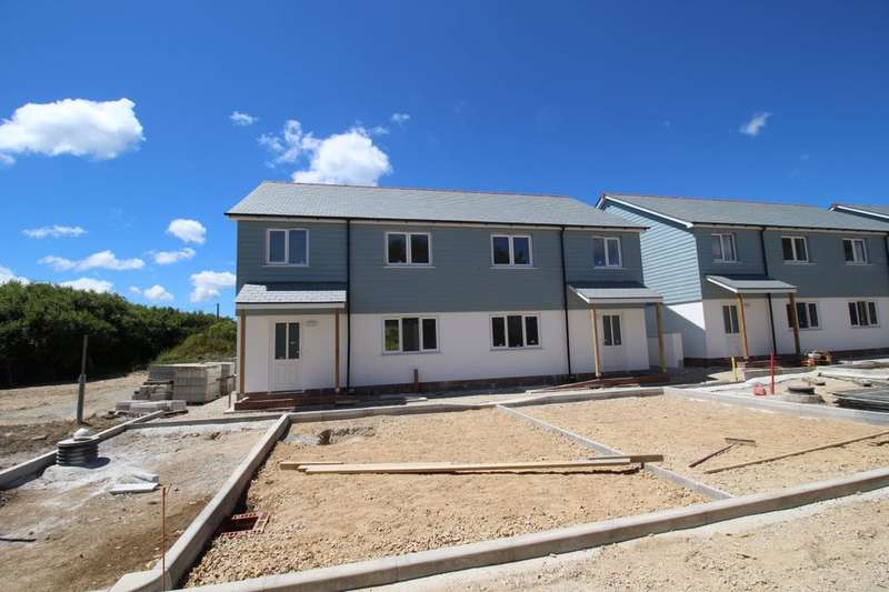 3 Bedrooms Semi Detached House for sale in New Homes Nr Penzance Tolverth Terrace, Penzance, TR18