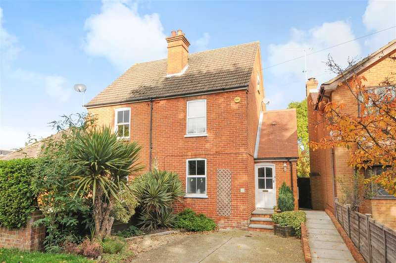 3 Bedrooms Semi Detached House for sale in Ellis Road, Crowthorne