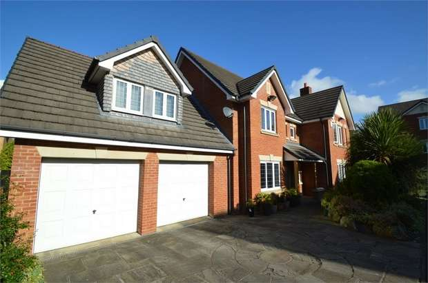 6 Bedrooms Detached House for sale in Heythrop Close, Whitefield, MANCHESTER, Lancashire