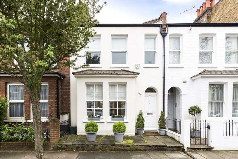 3 Bedrooms Terraced House for sale in Lillian Road, London, SW13