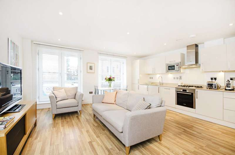 2 Bedrooms Flat for sale in Scriven Street, Haggerston, E8