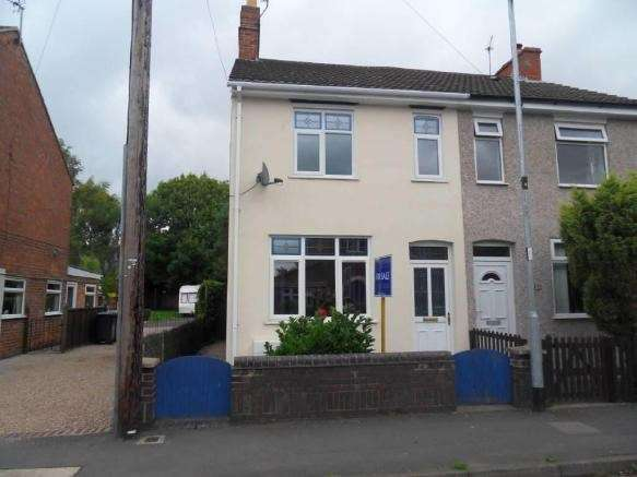 2 Bedrooms Semi Detached House for sale in Crescent Road, Hugglescote