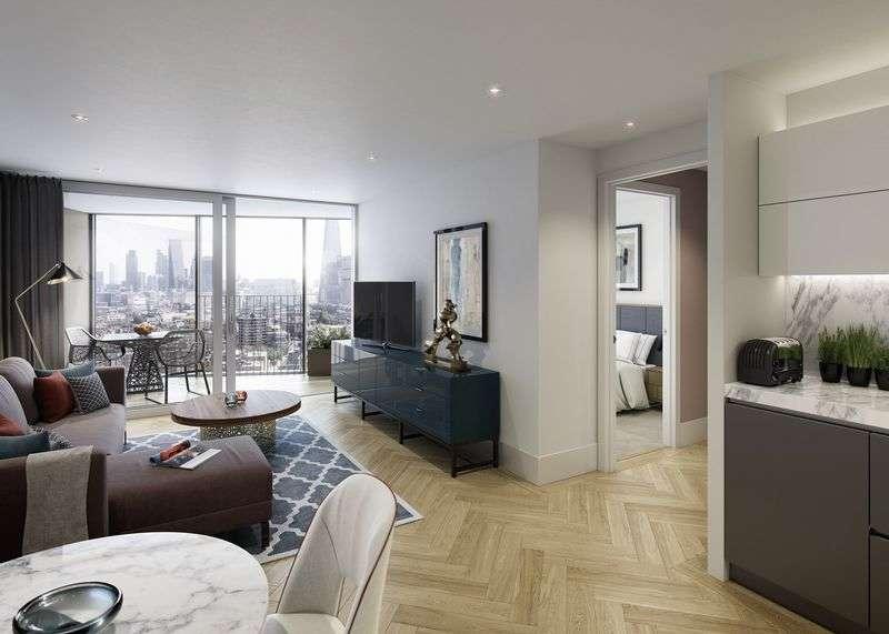 1 Bedroom Flat for sale in Southwark Bridge Road, London