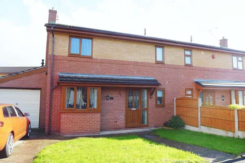 3 Bedrooms Semi Detached House for sale in Vyrnwy Close, Wrexham