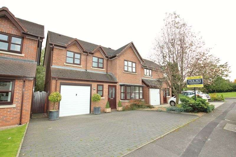 4 Bedrooms Detached House for sale in Smokies Way, Biddulph