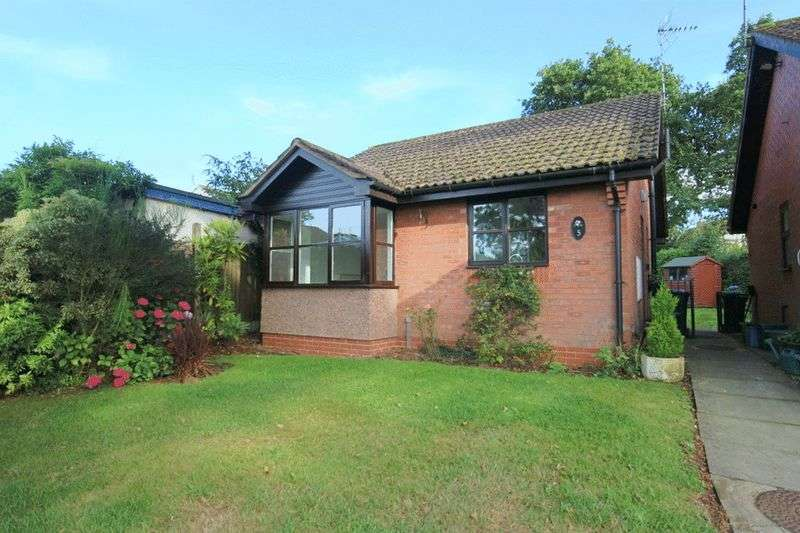 2 Bedrooms Detached Bungalow for sale in Pine Court, Loggerheads, Market Drayton