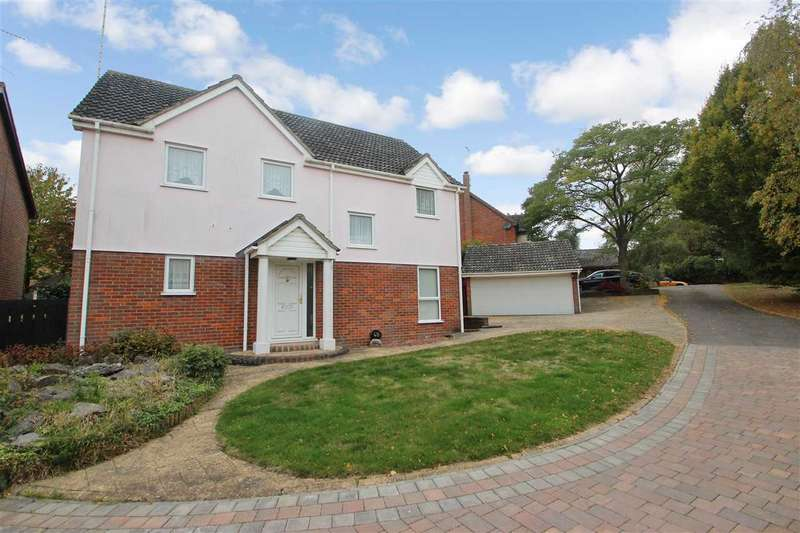 4 Bedrooms Detached House for sale in Fernlea, Braiswick, Colchester
