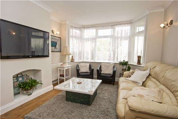 4 Bedrooms End Of Terrace House for sale in Byron Avenue, KINGSBURY, NW9 0ER