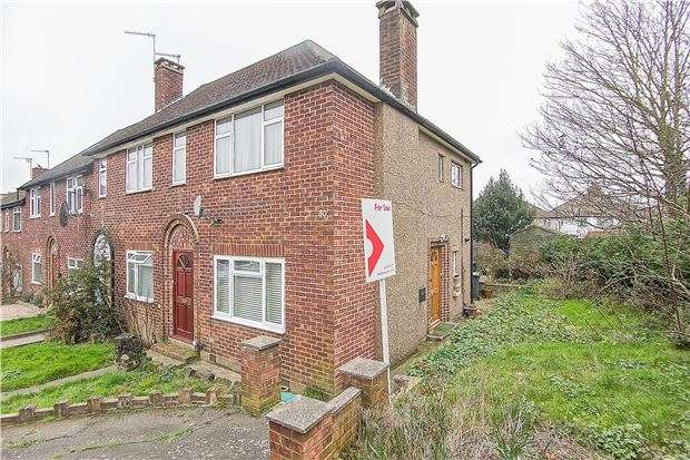 2 Bedrooms Maisonette Flat for sale in Uphill Drive, KINGSBURY, NW9 0BX