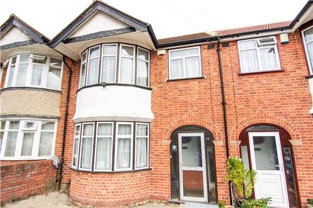 3 Bedrooms Terraced House for sale in Boycroft Avenue, KINGSBURY, NW9 8AP