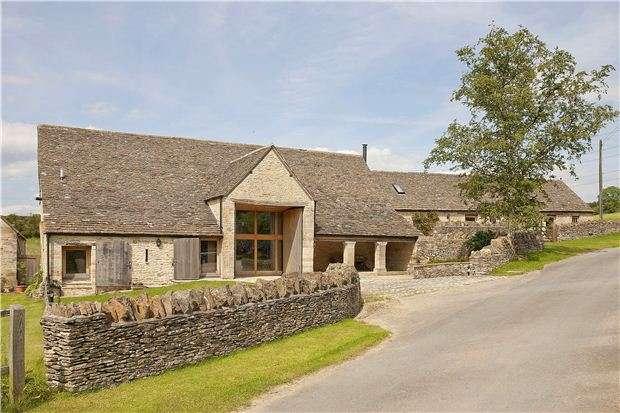 4 Bedrooms Detached House for sale in Upper Coberley,Cheltenham,Gloucestershire,