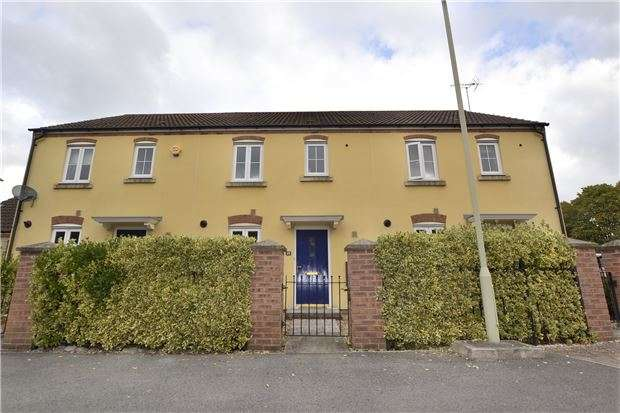 3 Bedrooms Terraced House for sale in Kinloss Drive Kingsway, Quedgeley, GLOUCESTER, GL2 2BL