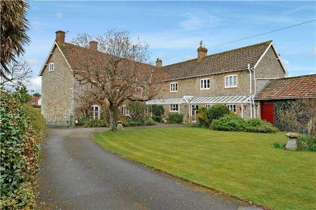 6 Bedrooms Detached House for sale in West End, Wedmore, Somerset, BS28 4BA