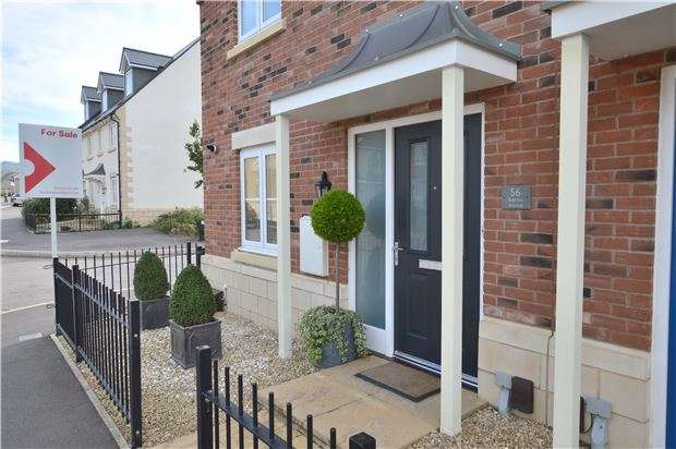 4 Bedrooms Semi Detached House for sale in Sunrise Avenue, Bishops Cleeve, Cheltenham, Gloucestershire, GL52 8EW